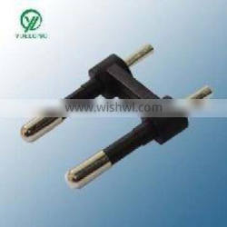 XY-A-049 2 pin plug parts with ROHS