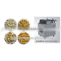 Fried snack food extruder