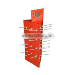Custom design logo printed cardboard display riser