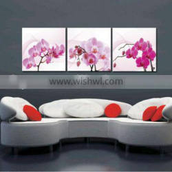 beautiful oil flower painting