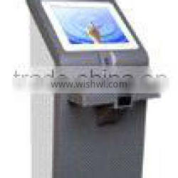 Stand-alone dual screen touch Advertising display Kiosk