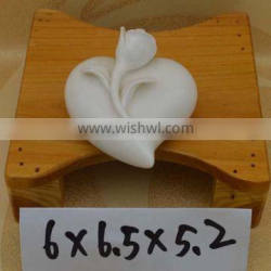 wholesale ceramic heart shape figurine for Valentine's Day & Wedding