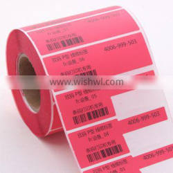 SINMARK Color series Red Single labels for utp cable