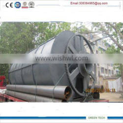 Quality guaranted 15tons waste recycling to gas pyrolysis equipment