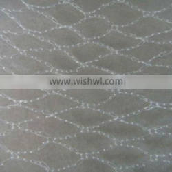 High Strength Plastic bird netting ( white) / Nylon multifilament mist bird nets