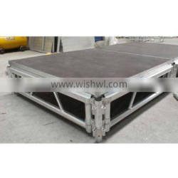 Hot selling small stage aluminum assembly stage for events