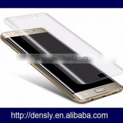 Manufacture High quality 3D Curved Tempered Glass Screen protector For Samsung S7 edge