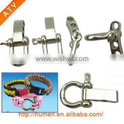 small stainless steel adjustable shackle, d shackle ,bow shackle