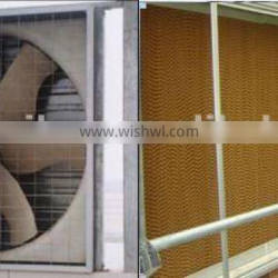 Wet Pad-exhaust fan Cooling Ventilation System for greenhouse