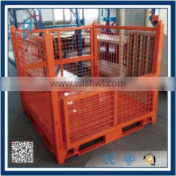 Storage Pallet Box Powder Coated Stacking Racks Tire Rack for Tyre