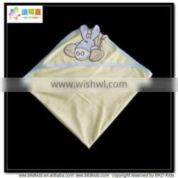 BKD combed cotton baby wrap banket