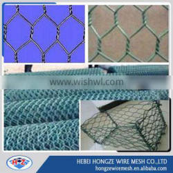 chicken coop iron wire fence/PVC coated galvanized/ hexagonal wire mesh manufacture