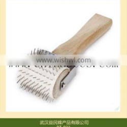 beekeeping equipment uncapping roller stainless steel