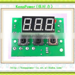 XH-W1601 new temperature controller High Precision PID Temperature Control Board Semiconductor Cooling PID Heating PID Developme