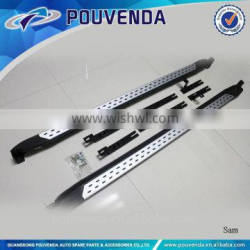 High Quality Aluminium Alloy Running Board for 2013+ Hyundai Tucson (Acura Type) Auto accessories from pouvenda