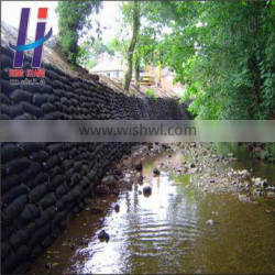 Non Woven Geo Bags Geotextile Fabric Bag Geotextile Sand bag revetments for large rivers