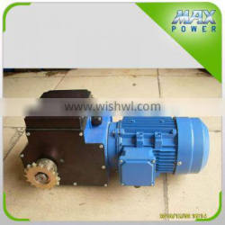 Curtain reduce speed gear motor for Agricultural greenhouse