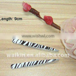 Zebra Pattern Beauty Products For Female Cosmetic Tweezer