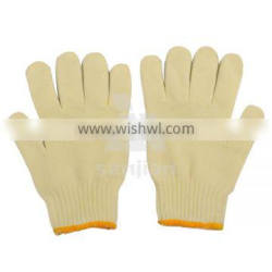 hot sellingsafety gloves made of cotton hand gloves machine cotton knitting glove