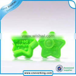 fashionable star shape cookie cutter with colorful