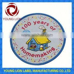 high definition woven clothing badge