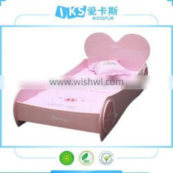 2014 hot sell car bed for girls K6