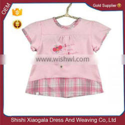 2016 baby girl boutique clothing Pink baby clothes wear