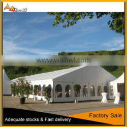 300 people outdoor aluminum white lining decorated marquee for sale