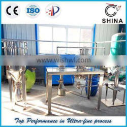 QWJ Series Lab Jet Mill for fine particles