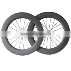 Factory direct sales 86mm clincher 27mm width lightweight Novatec and Bitex R13 hub Racing Road carbon wheelset