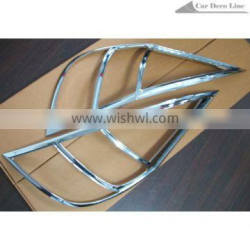 Chrome taillight cover for Hyundai I30 2009