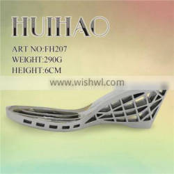 2016 fashional ABS high heel shoe sole