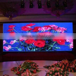 popular indoor led video digital advertising screens for sale Ph6 6mm pitch led display