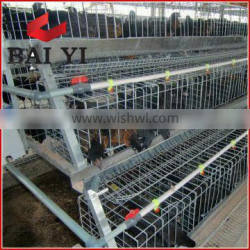 (A Type 3 Layer & 4 Layer) Layer Chicken Cage For Poultry Farms