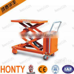 Hot sell Movable Manual or Electric Motor pallet jack lift table