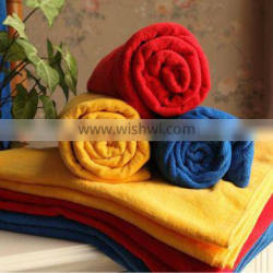 100% cotton solid color bath towel
