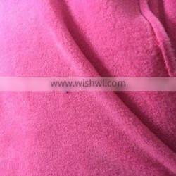 Solid color bed sheet polar fleece with anti-pilling