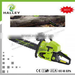 2015 new gasoline chain saw 5200 52cc