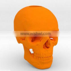 Blank Skull Head Collectible plastic toys/Make design plastic toys for decoration/OEM Wholesale plastic toys China Manufacturrer