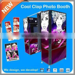 Touch Screen Photocabine For Events With DIY Design