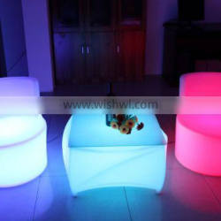 elegant modern led luminous tables with IR remote control