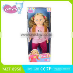 New !Own Design High Quality PVC 22 Inch Baby Doll