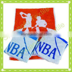 high quality cotton printing picture NBA sport towels