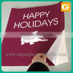 Good Quality Advertising Logo Label Vinyl Sticker 3M wall Sticker