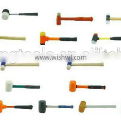 rubber hammer free sample hand tools can be OEM with free samples