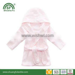 New product for baby 100% natural bamboo bathrobe hooded towel