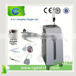 electronic cigarette with oxygen