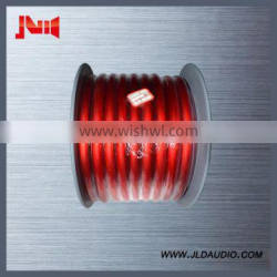 Good Quality china supplier speaker wire for car audio cables with Copper conductor 1/0 copper audio wire