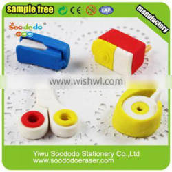 Primary Students Book Sewer Customized Stationery Eraser