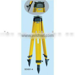 wooden tripod SDI001-4 for total station and theodolite